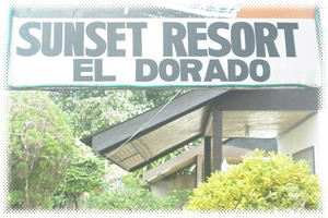 El Dorado Sunset Cottages and Resort - Signage View